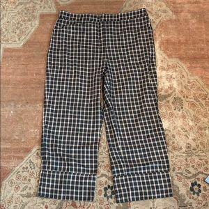 Zara Checked Business Pants